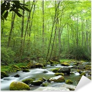 Jungle stream Pixerstick Sticker