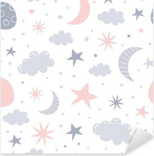 Pixerstick Sticker Kinderdagverblijf patroon