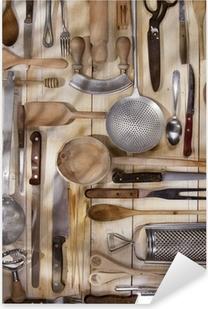 Kitchen accessories Pixerstick Sticker
