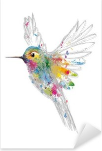 Kolibri Pixerstick Sticker