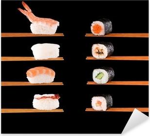 Sticker Pixerstick La cuisine japonaise traditionnelle