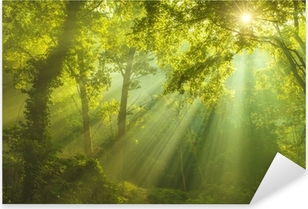 Sticker Pixerstick La forêt du paradis