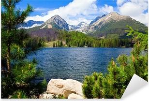 Lake in Slovakia Pixerstick Sticker