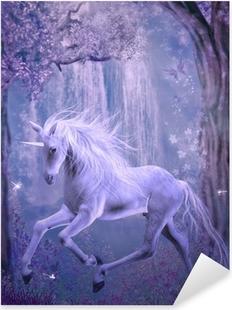 last unicorn Pixerstick Sticker