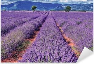 Pixerstick Sticker Lavendel veld