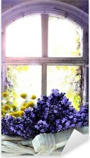 Lavendel Pixerstick Sticker