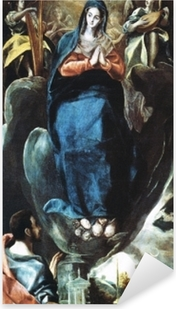 Sticker Pixerstick Le Greco - Maria Immaculata