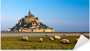 Sticker Pixerstick Le Mont Saint Michel, France