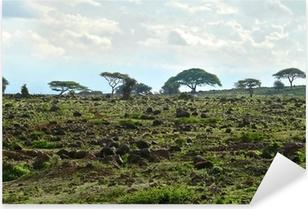 Sticker Pixerstick Le paysage nature du Kenya. Kenya. Afrique.