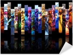 Pixerstick Sticker League of Legends