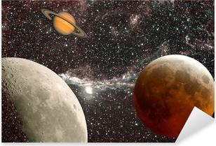 leçon d'astronomie, les planètes Pixerstick Sticker