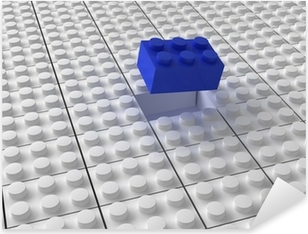 Lego background bw Pixerstick Sticker