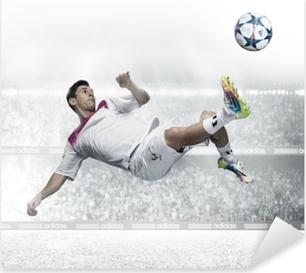 Sticker Pixerstick Leo Messi