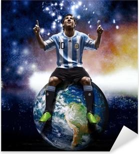 Leo Messi Pixerstick Sticker