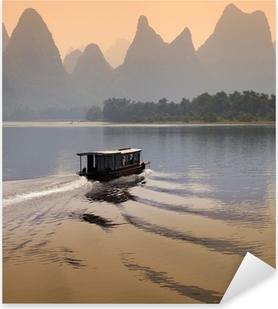 Li River - Guilin - China Pixerstick Sticker