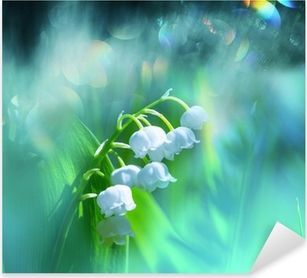 Lily of the valley Pixerstick Sticker