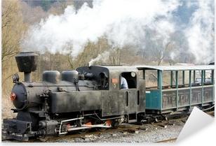 Sticker Pixerstick Locomotive à vapeur Balog, Slovaquie