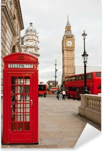 London, England Pixerstick Sticker