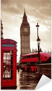 London street Pixerstick Sticker