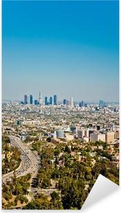 Sticker Pixerstick Los Angeles gratte-ciel