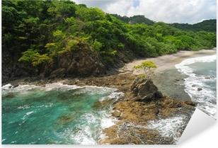 Pixerstick Sticker Luchtfoto van de westerse Costa Rica