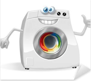 Stickers laverie pixers nous vivons pour changer - Stickers machine a laver ...