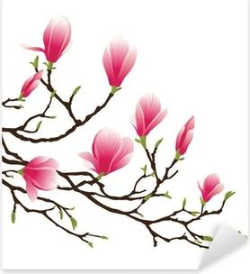 Sticker Pixerstick Magnolia Blossom