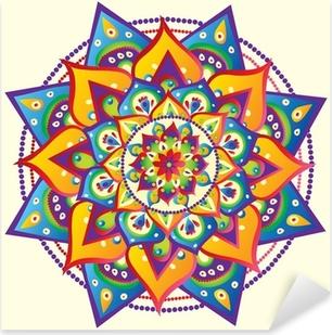 Sticker Pixerstick Mandala