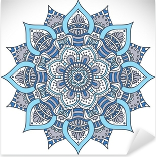Mandala Pixerstick Sticker