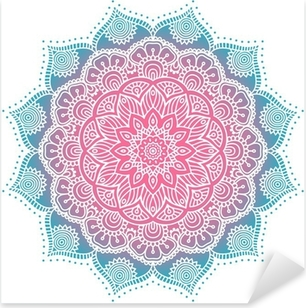 Pixerstick Sticker Mandala