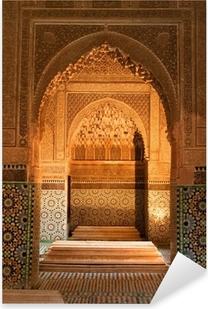 Sticker Pixerstick Maroc