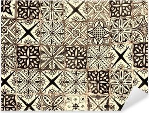 Plakplastic Voor Tegels : Stickers marokkaanse tegels u2022 pixers® we leven om te veranderen
