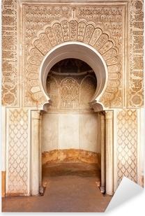 Marrakech madrasah ornament Pixerstick Sticker