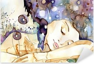 marzenia senne Pixerstick Sticker