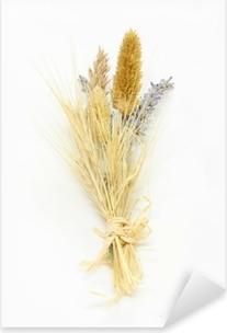 Mazzo Di Fiori Secchi.Mazzolino Di Fiori Secchi Bouquet Of Dried Flowers Sticker