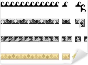 Méandres grecques Pixerstick Sticker
