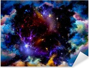 Metaphorical Space Pixerstick Sticker