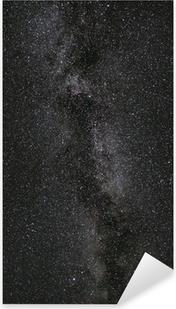 Milchstraße Pixerstick Sticker