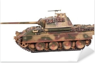 Model of Panther tank isoleted Pixerstick Sticker