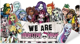 Sticker Pixerstick Monster High