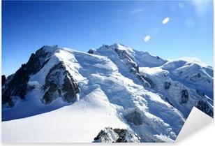 Pixerstick Sticker Mont blanc