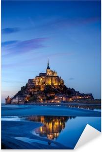Pixerstick Sticker Mont Saint Michel, Frankrijk