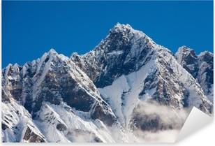 Sticker Pixerstick Montagnes de l'Himalaya