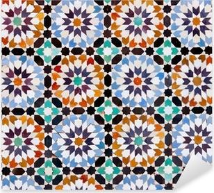 Moroccan Tiles in Marrakesh Pixerstick Sticker