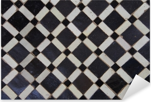 Sticker Pixerstick Motif de tuile zellige marocain