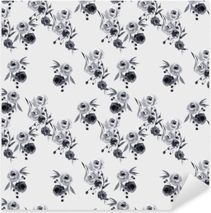 Sticker Pixerstick motif floral Minimaliste - Nina Ho