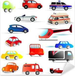 Pixerstick Sticker Motorvoertuigen - set