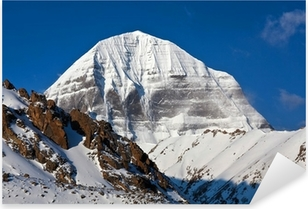 Mount Kailash in Tibet Pixerstick Sticker