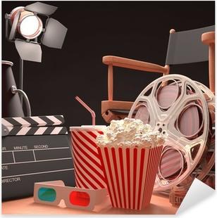 Movie Art Pixerstick Sticker