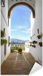 Mudejar arch in Ronda, Andalusia, Spain Pixerstick Sticker